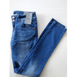 MOLLY - Jeansy Slim Fit 29/34